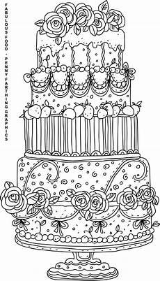 Malvorlagen Cake Cake From Quot Fabulous Food Quot Hochzeit Malvorlagen Malbuch