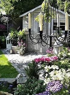 Outdoor Bilder Garten - decorating with outdoor lights to romanticize backyard designs