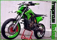 Supermoto Keren by 15 Gambar Modifikasi Kawasaki Klx 150 Dan D Tracker 150