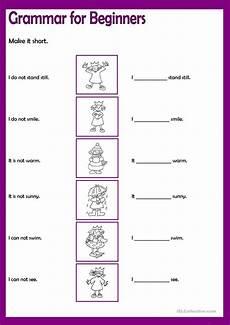grammar exercises for beginners 19147 grammar for beginners say no 2 worksheet free esl printable worksheets made by teachers
