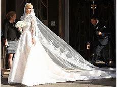 Nicky Hilton?s Wedding Dress Has an Epic, 10 ft. Train