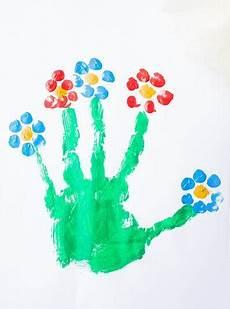Handabdruck Bilder Frühling - 12 ideen zum malen im fr 252 hling mit kindern kinder