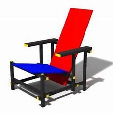 gerrit rietveld rot blau stuhl kaufen bei