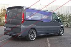 Spoiler Rear Wing Renault Trafic Opel Vivaro Doors