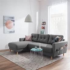 sofa blau skandinavisch ecksofa sola flachgewebe in 2019 living inspiration