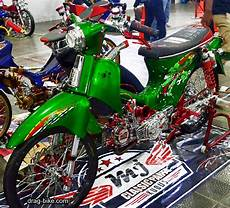 Modifikasi Honda C70 by 40 Foto Gambar Modifikasi Honda C70 Kontes Airbrush