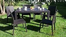 tavoli e sedie in resina per esterno tavolo e sedie da giardino poltrone set rattan terrazzo
