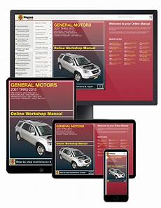 download car manuals pdf free 2011 gmc acadia interior lighting gmc acadia 2007 2015 car repair manuals haynes manuals