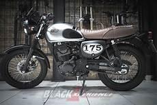 Kawasaki W175 Modif Tracker by Mudahnya Memodifikasi Motor Retro Klasik Kawasaki W175