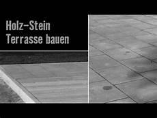 Version 2013 Holz Stein Terrasse Bauen Hornbach