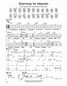 stairway to heaven lyrics stairway to heaven by led zeppelin guitar lead sheet guitar instructor
