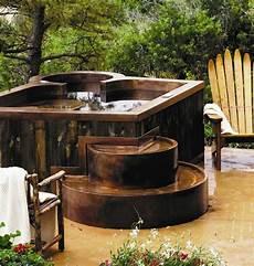Whirlpool Im Garten Outdoor Wird Zum Blickfang