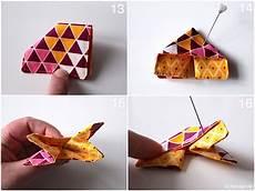 origami schmetterling aus stoff naehanleitung stoffreste