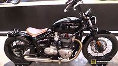 2017 triumph bonneville bobber 1200 custom bike