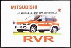 how to download repair manuals 1993 mitsubishi rvr parental controls mitsubishi rvr 1997 2002 owners manual engine model 4g63 4g64 4g93 1869760948 9781869760946
