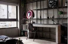 fabulous marvel heroes themed house with cement finish and industrial 11 best marvel heroes themed apartment designs images on