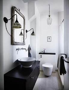 idee deco wc noir et blanc