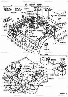 wiring cl for toyota hilux ln106 genuine parts