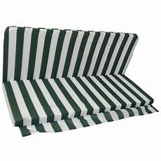 cuscino per cuscino cuscini dondolo 3 posti 133 x 50 x 6 cm bianco