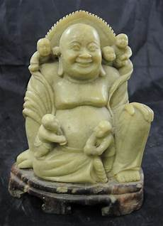 carving soapstone details about antique soapstone carving laughing buddha