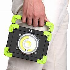 20w rechargeable led work light ip44 waterproof portable le 174