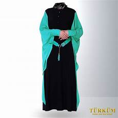The Regular Black Colored Turkish Jilbab Style Has Been