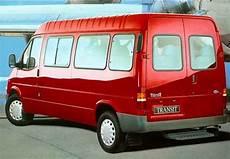 Fiche Technique Ford Transit Minibus Transit 100 2 0 E Gl