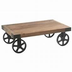 roue en fer pour table basse pour table basse industrielle lille menage fr
