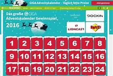 Giga Technik Adventskalender Gewinnspiel 2016 Rue25