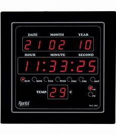 ajanta square digital wall clock sachretails 302 0 buy