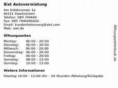 ᐅ 214 Ffnungszeiten Sixt Autovermietung Am Holzbrunnen 1a