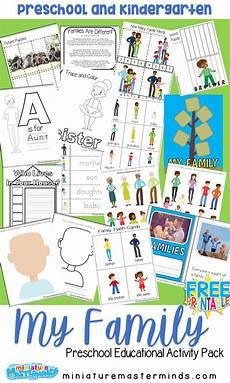 my family free printable preschool activity preschool family preschool family theme