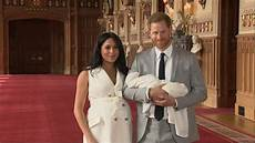 Royal Baby Harry And Meghan Reveal To The World Uk