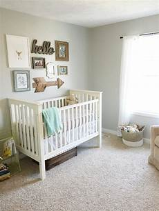 gender neutral nursery reveal the in the shoes