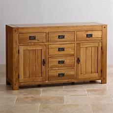 quercus large sideboard rustic oak oak furniture land