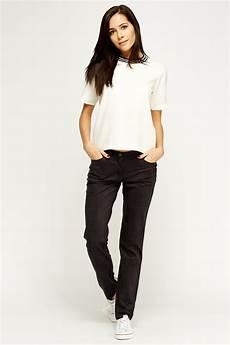 low waist suedette low waist trousers just 163 5