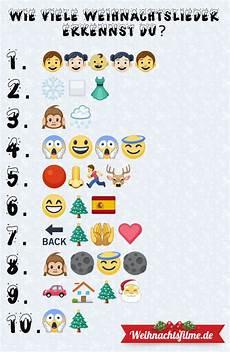 wie viele emoji weihnachtslieder erkennst du