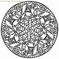 Kostenlose Ausmalbilder Zum Ausdrucken Mandalas Mandala Vorlagen Malvorlagen Kostenlos Zum Ausdrucken