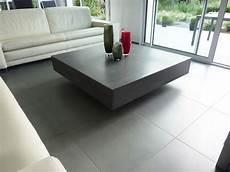 table basse en béton ciré table basse design en b 233 ton h 233 lium table design en b 233 ton