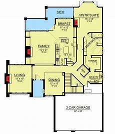 sloping hill house plans 4 bed hill country home for a sloping lot 36445tx