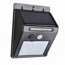 20 leds solar powered light pir motion sensor wireless