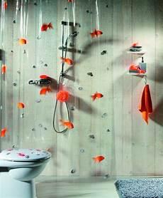 spirella goldfish orange plastic shower curtain 100 pvc