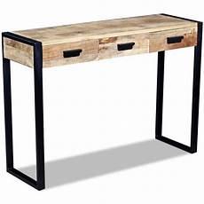 console en bois pas cher console extensible en bois massif achat vente pas cher