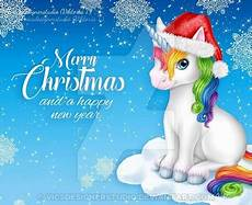 merry christmas unicorn by vicsdesignerstudio