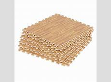 Wood Effect Interlocking Floor Tiles Flooring Foam Gym