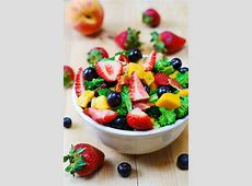 broccoli salad with mango dressing_image