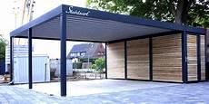 Carport Holz Metall - carport metall doppelcarport stahl holz kaufen abstellraum