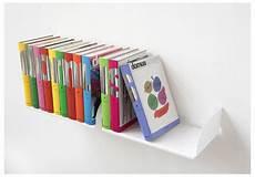 mensole libri mensole per libri quot ubd quot set di 2 45 cm acciao