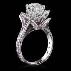 2017 5 carat diamonds flower shape engagement ring gold new from edfdfgh 68 35 dhgate com