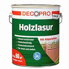 holz lasur decopro holzlasur 5 liter kiefer sonderpreis baumarkt